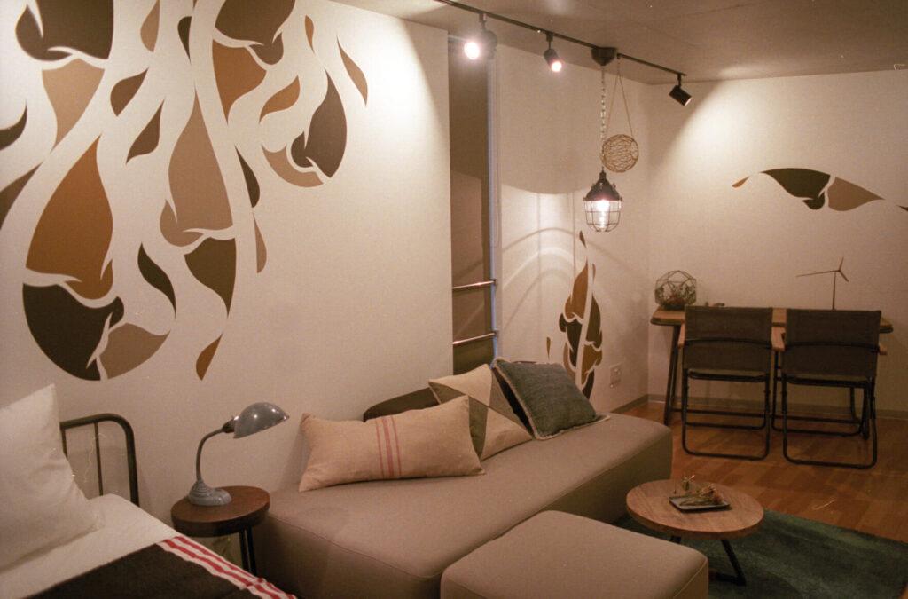 民泊アートマンション「THE AOCA TOKYO SANNO」が2018年6月15日グランドオープン