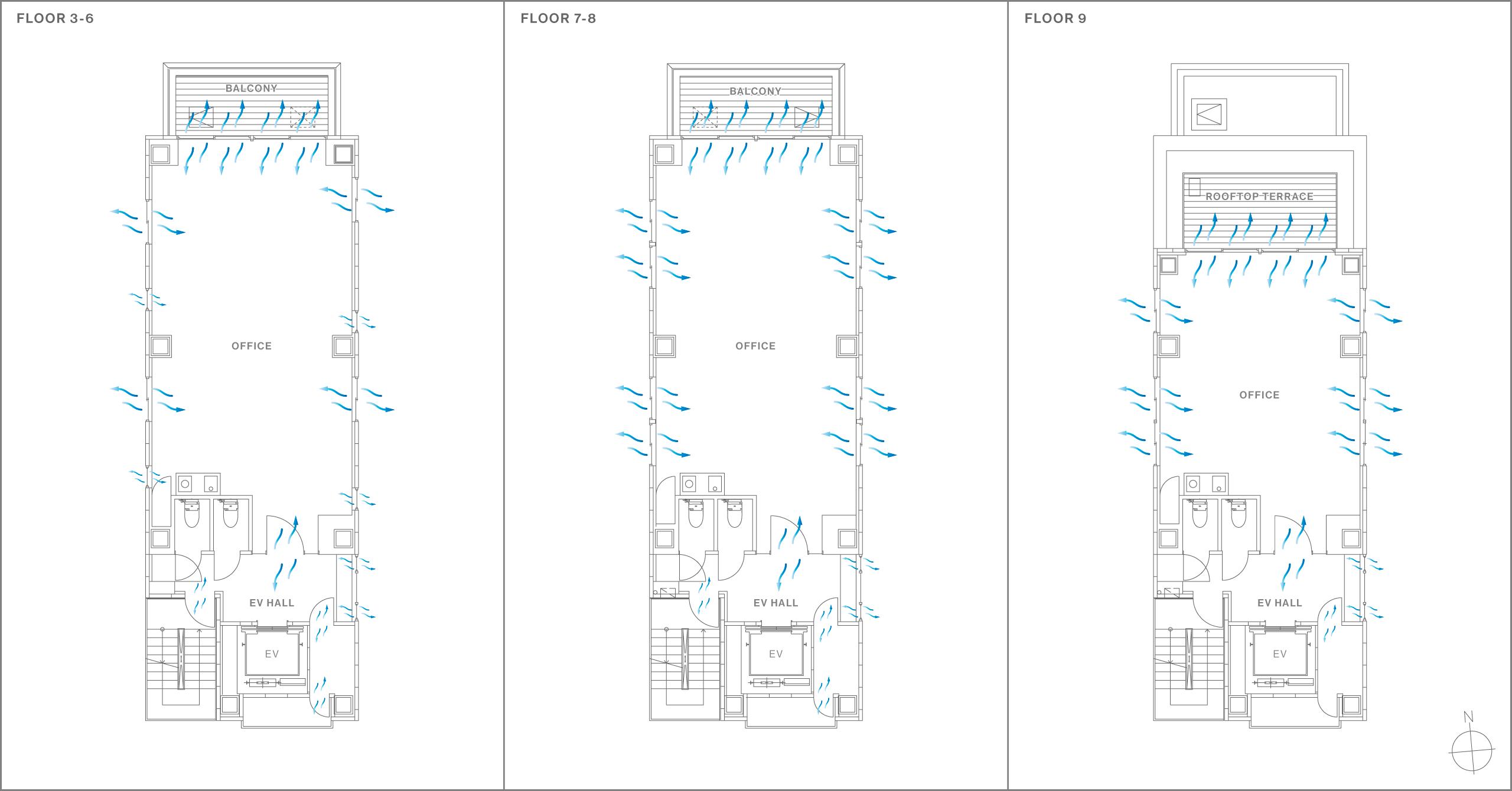 感染症対策オフィスビル「UTSUWA(仮)」を企画、設計。